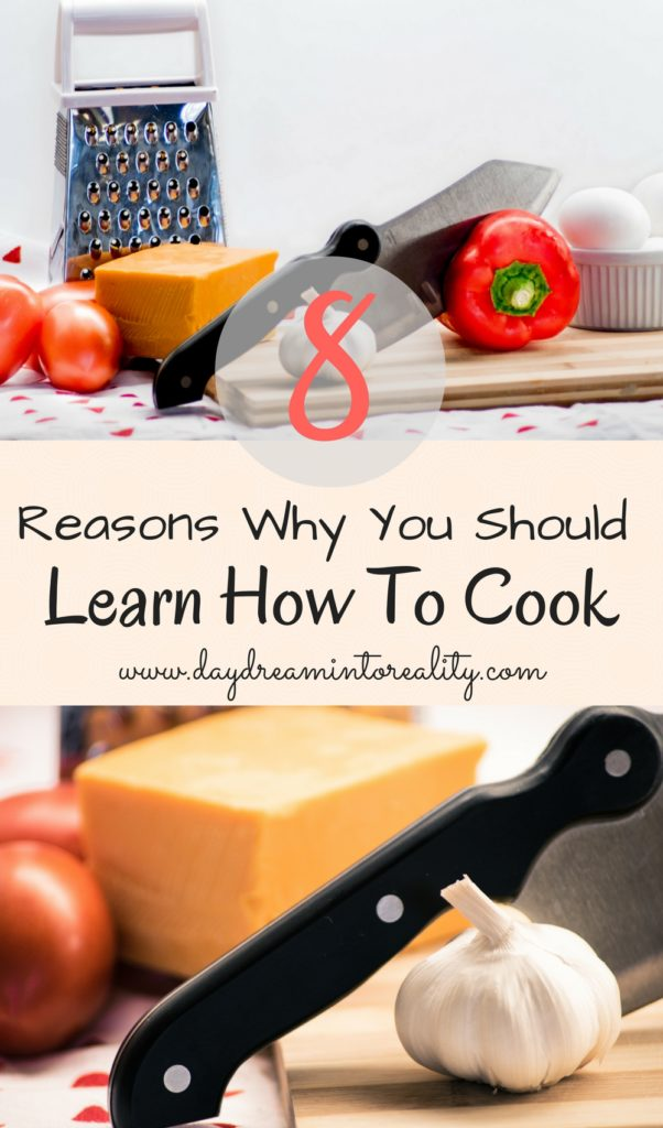 Do you eat? If your answer is yes! Come and check out this 8 reasons of why you should learn how to cook! Don't be shy and find your inner chef!