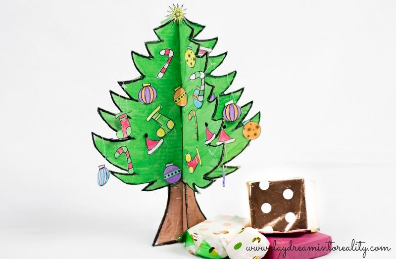 DIY Baby Christmas Tree With Free Printable!!