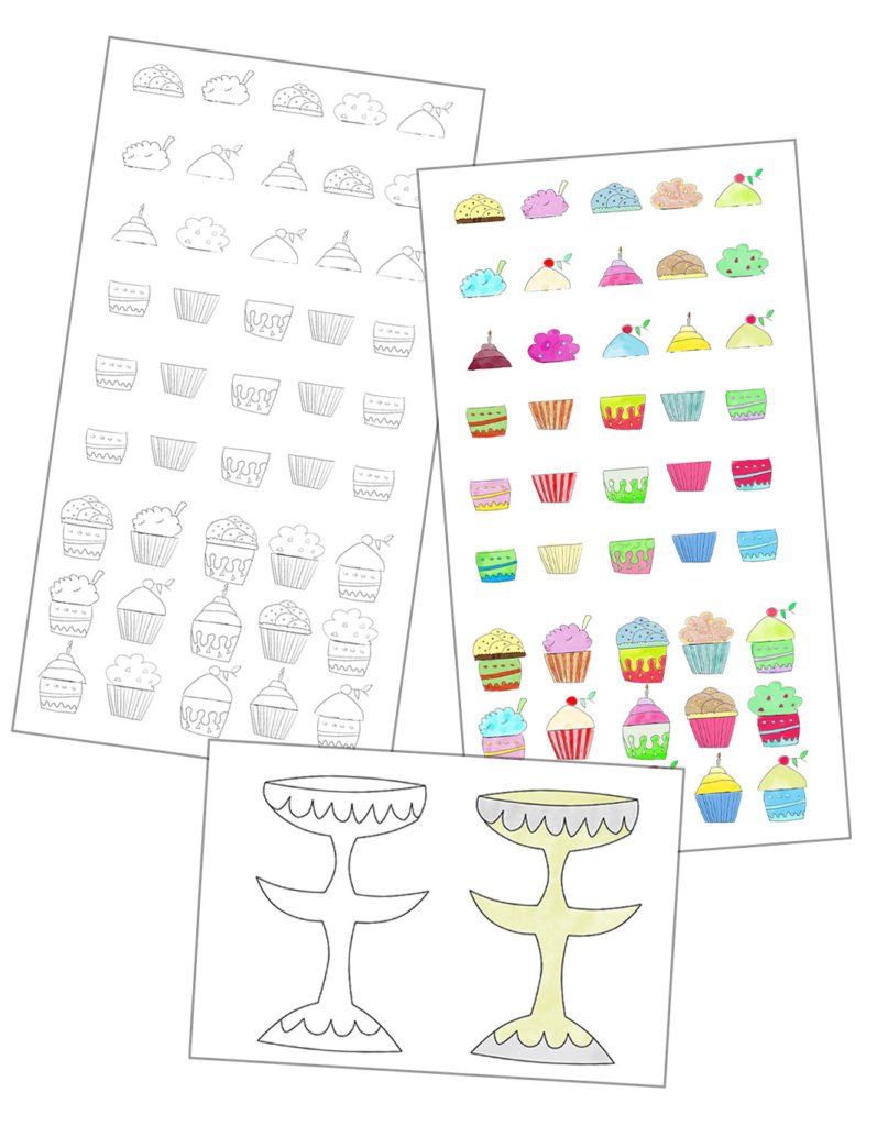 Do your kids like cupcakes? Come and get this amazing Matching Cupcake printable that you and your kids are going to love!
