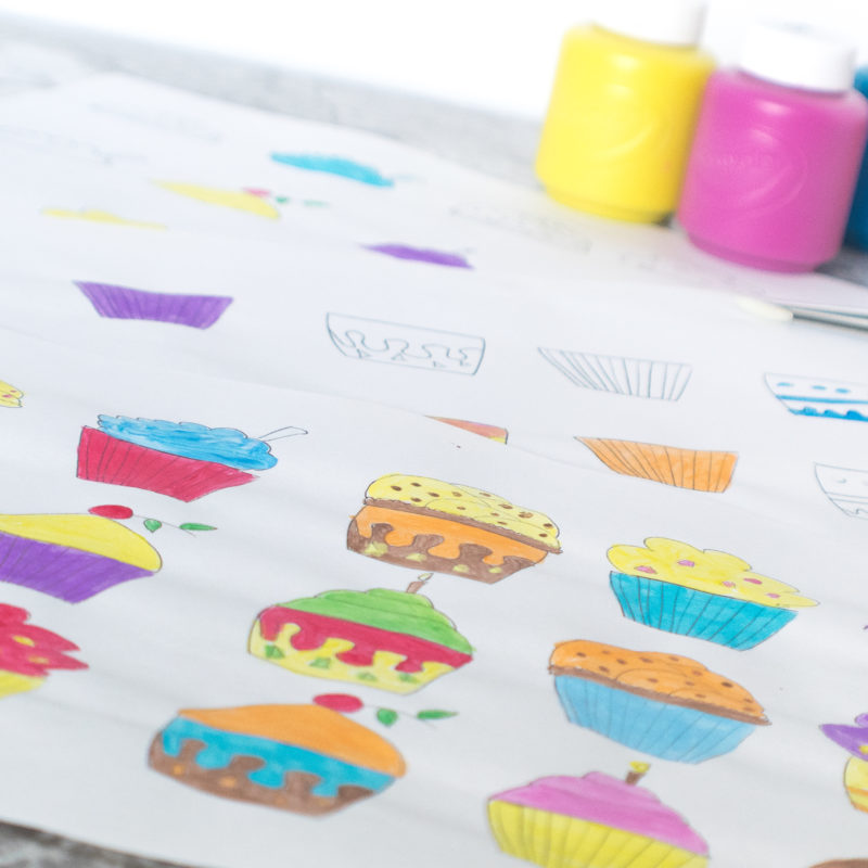 Cutest Matching Cupcakes Free Printable