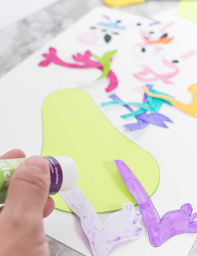 Do you have plans for today? What about spending some time with your little ones on this Adorable Matching Monsters Craft!