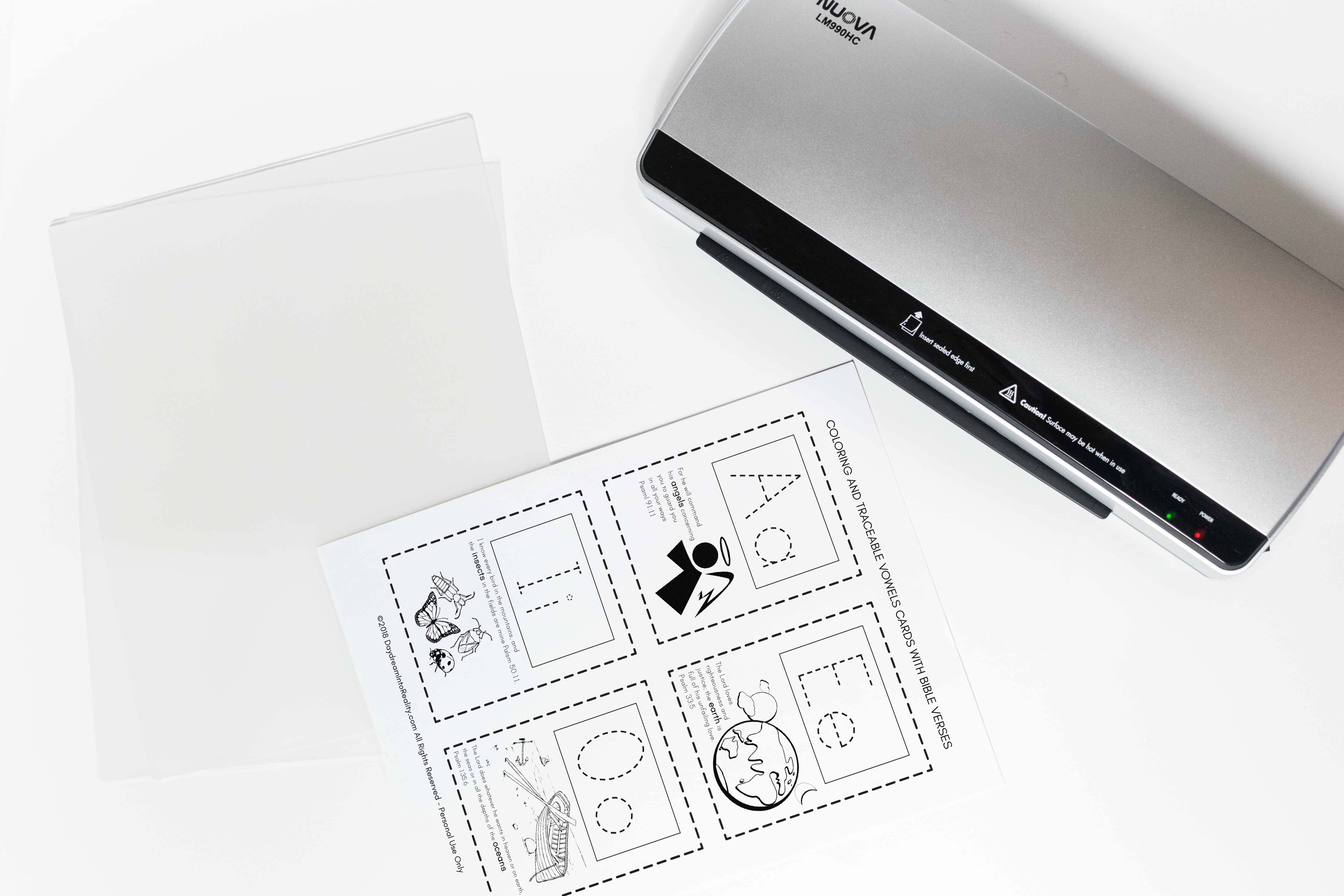 Learn How to Laminate and Make Printables more Durable with this step by step tutorial. The possibilities are endless!