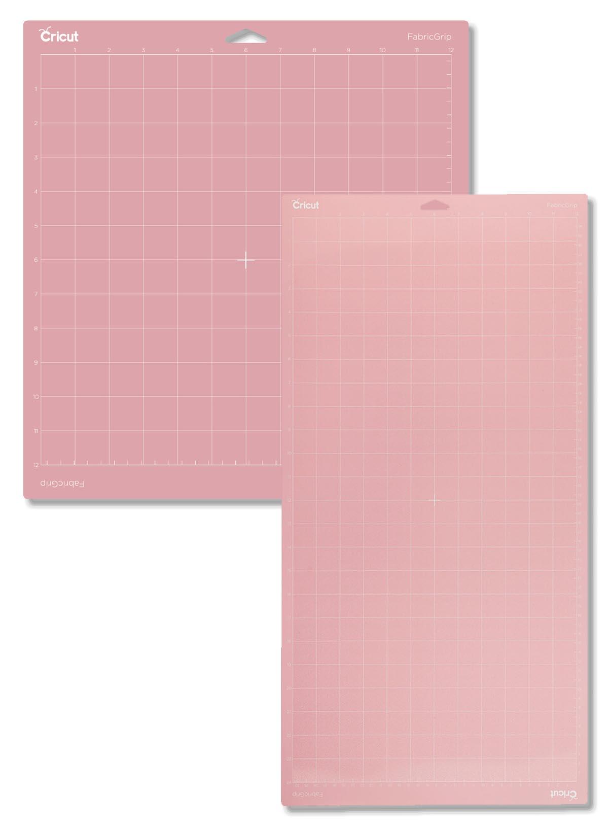 Pink Fabric Mat Both sizes 12x12 ans 12x24