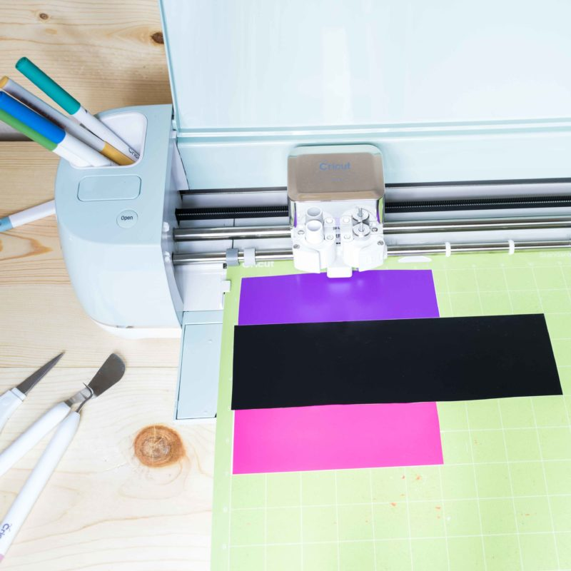 Cricut cutting different colors in one mat