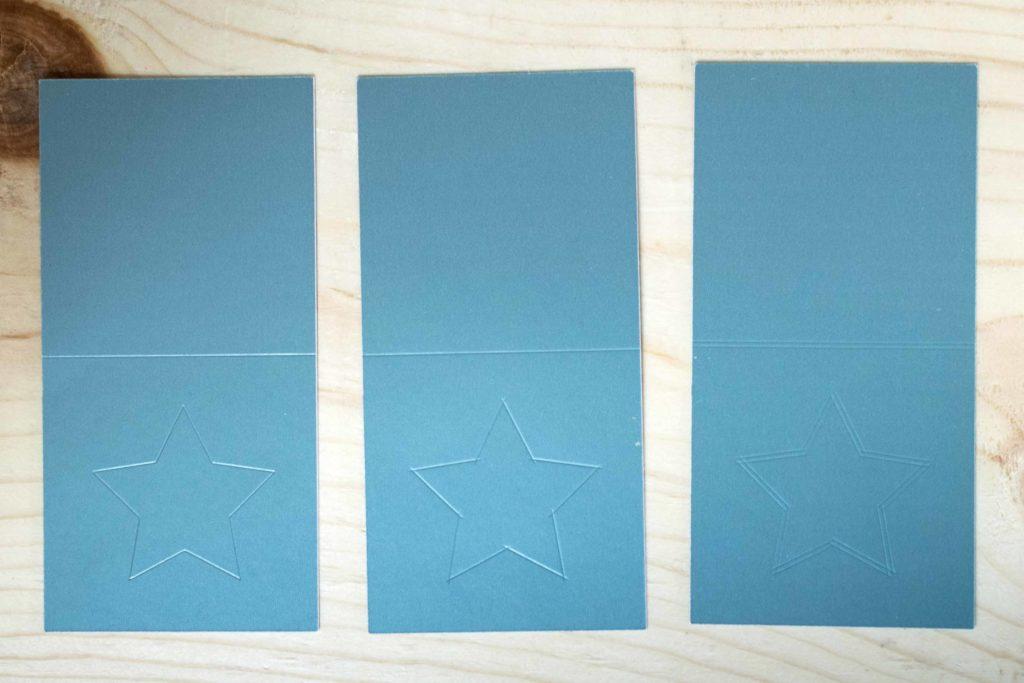 Score Lines on Metallic Poster board using Cricut Scoring Wheel And Stylus