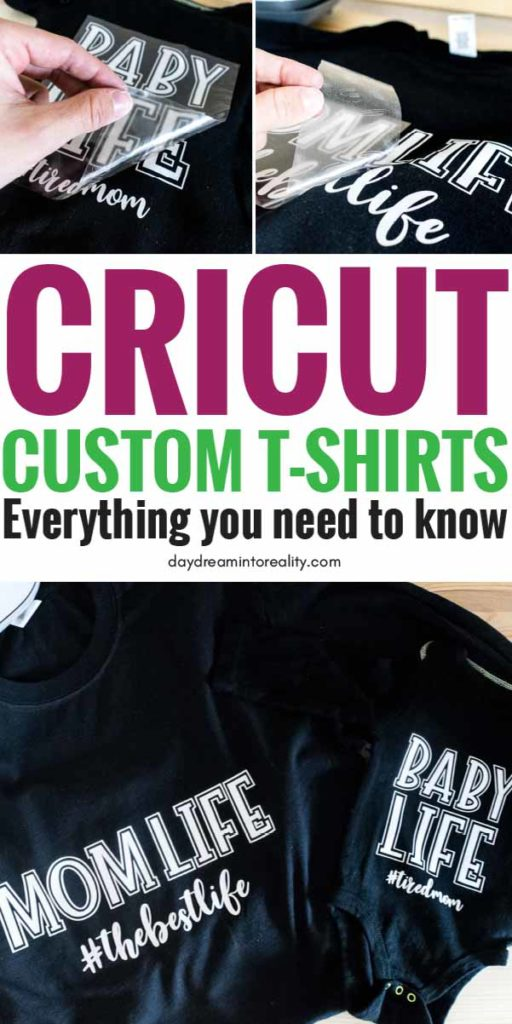learn – from start to finish – how to make custom T-Shirts with your Cricut Maker or Explore.