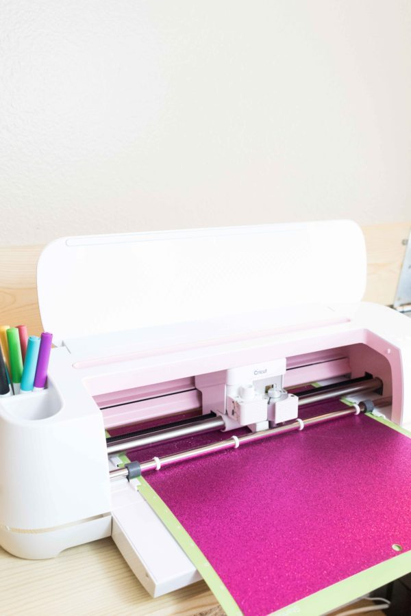 Load Mat and tools to your Cricut to cut Banner