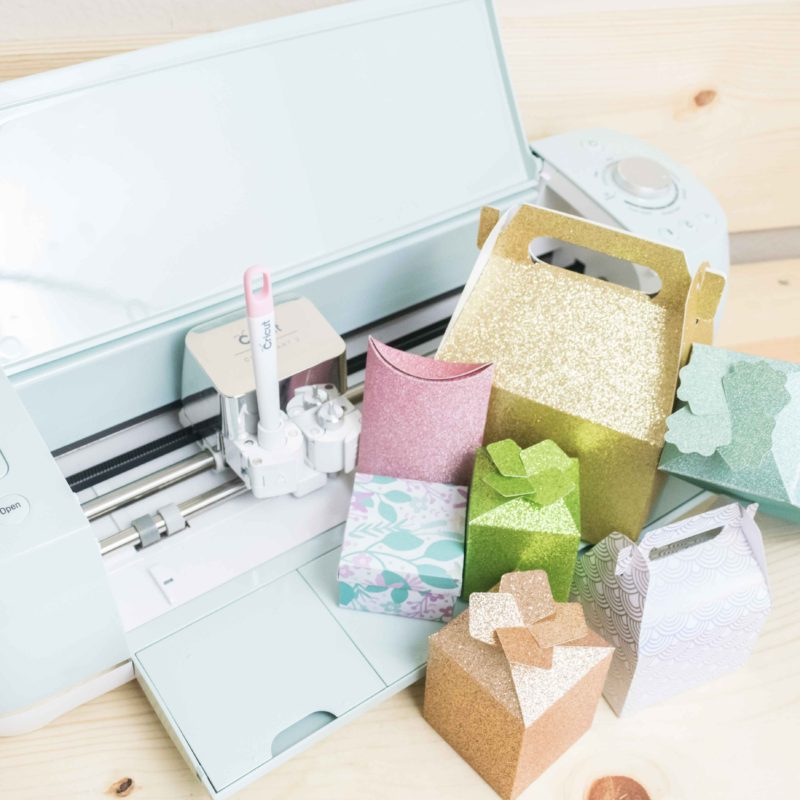 How to Make & Assemble Beautiful Boxes with your Cricut + Free Templates