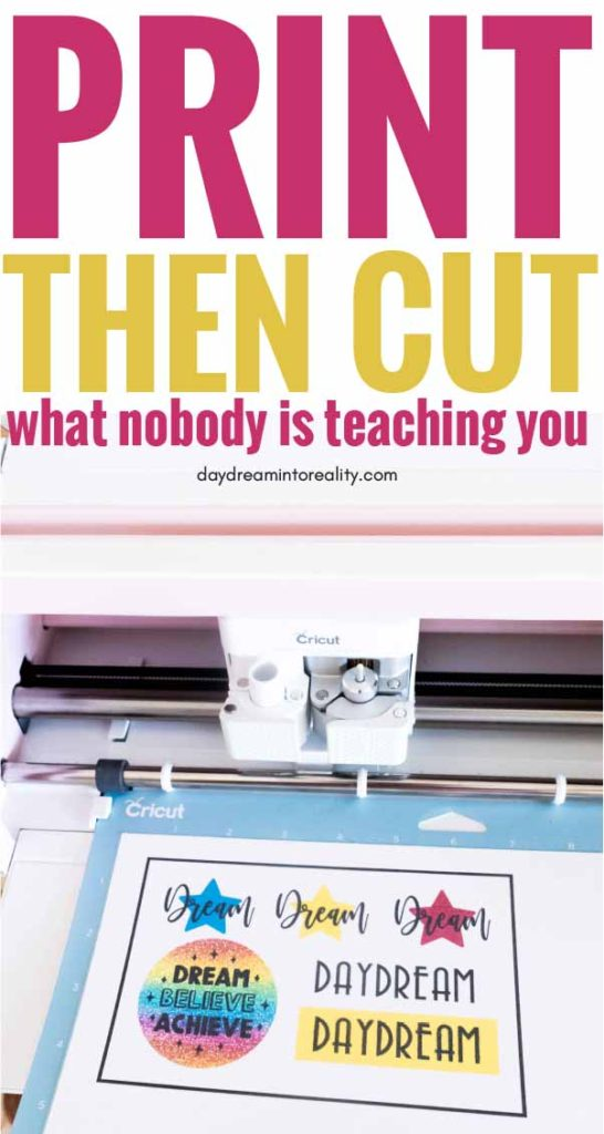 learn - Whether you have Maker or Explore - how to Print and Cut images with your Cricut.