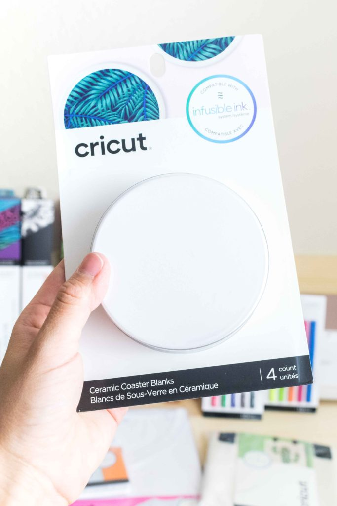 Cricut Infusible Ink Round Ceramic Coaster