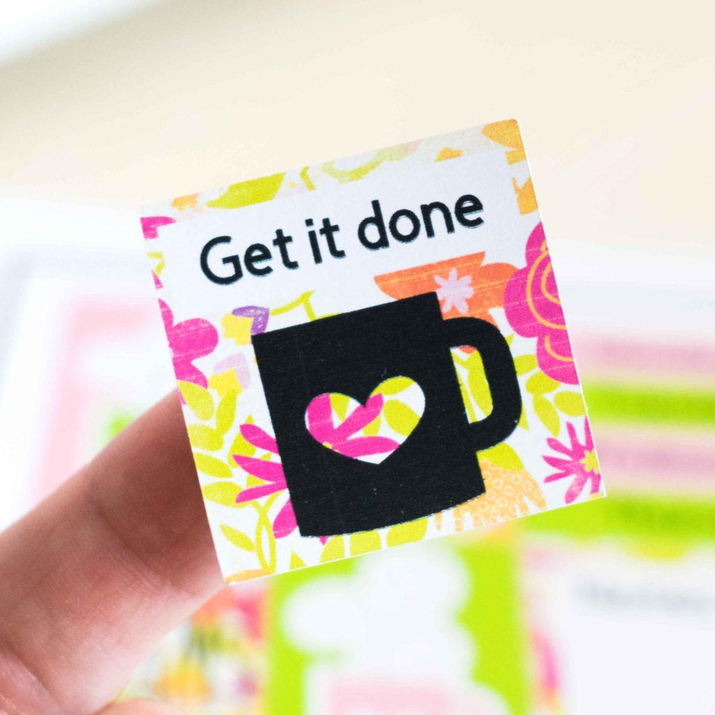 Cricut Sticker - Get it done