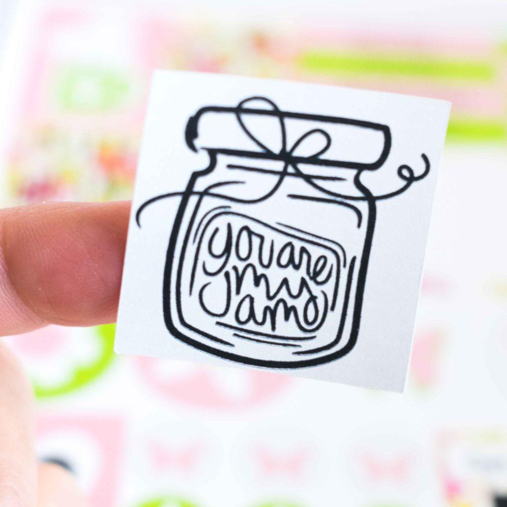 Cricut Sticker - You are my jam