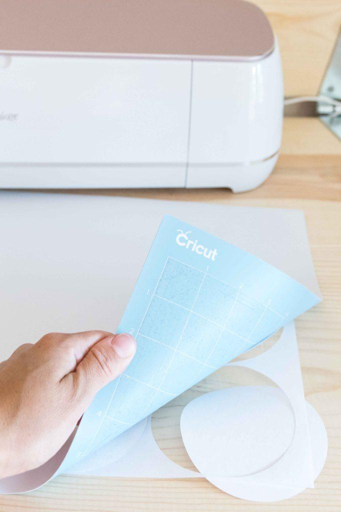 Removing design from Cricut Mat