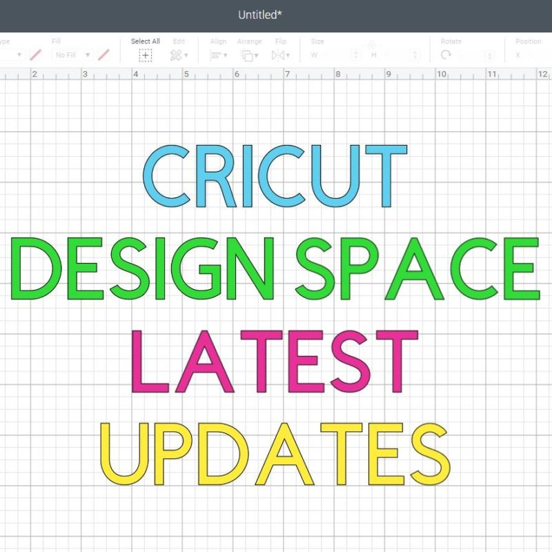 Stay up to date with Cricut Design Space Latest Changes