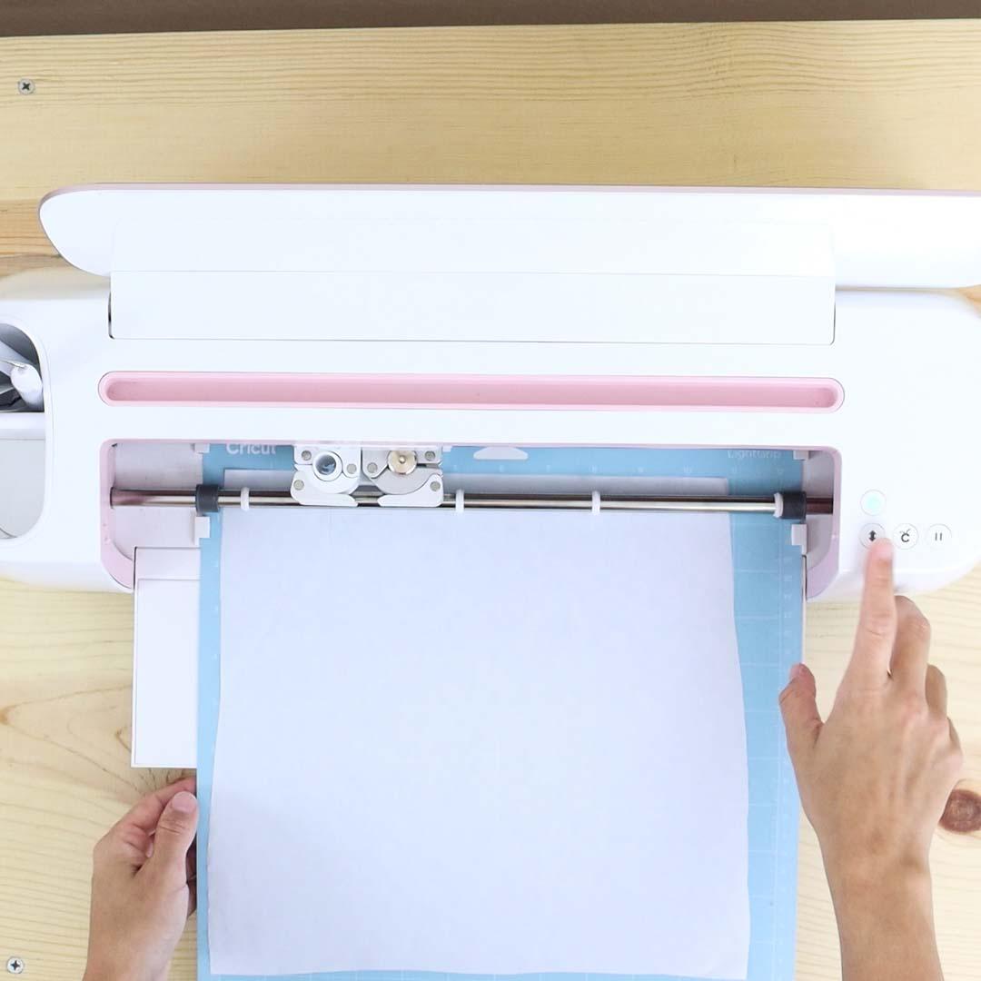 cutting freezer paper with the Cricut Machine