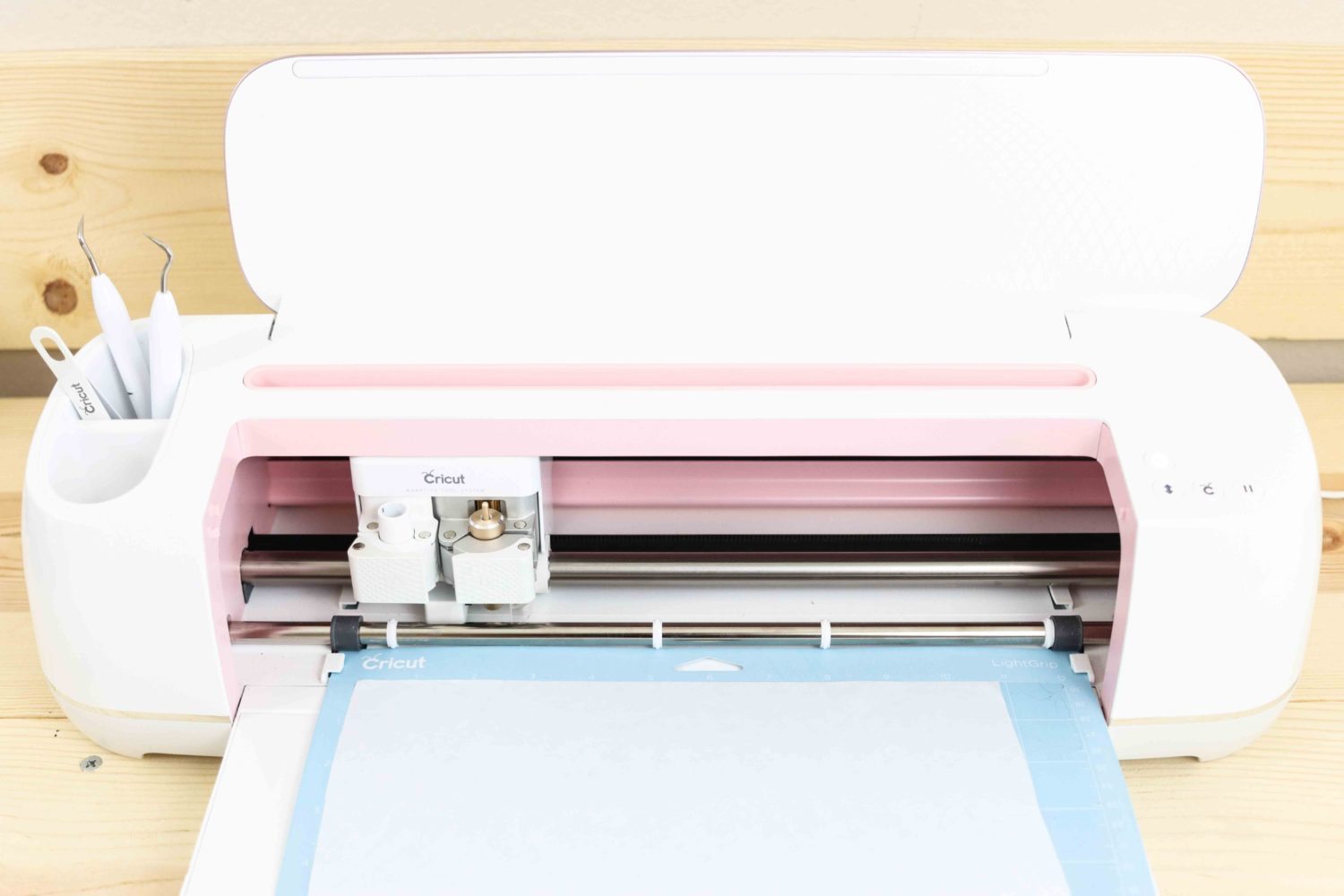 cutting freezer paper without carrier sheet