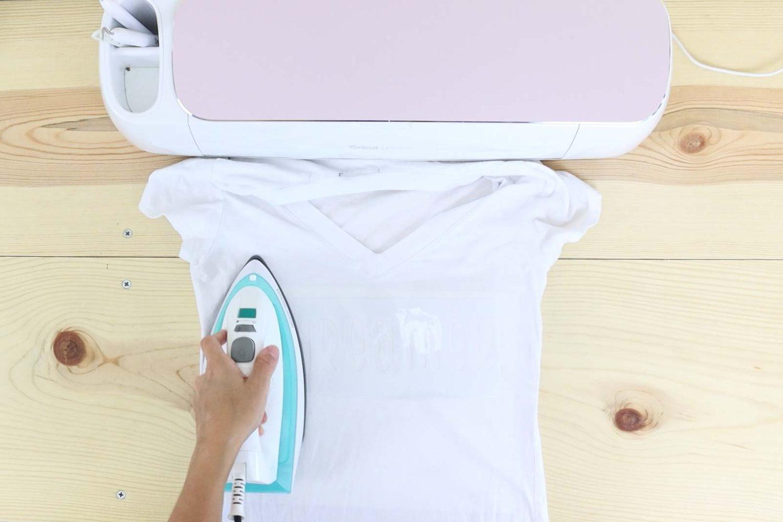 bonding freezer paper to fabric