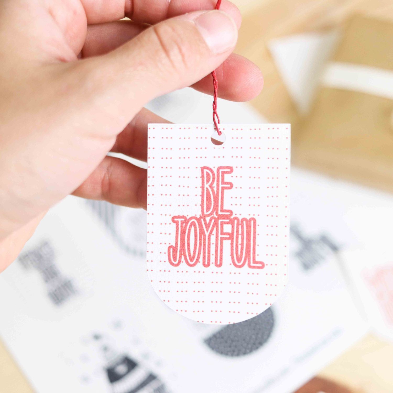Assorted Christmas Gift Tags Free Printables