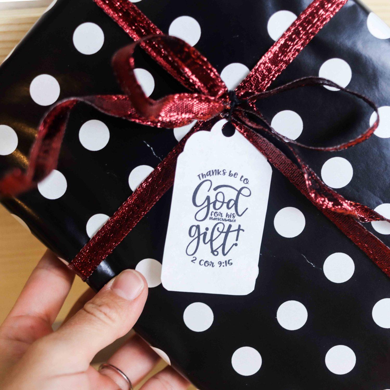 Christ Centered Christmas Gift Tags