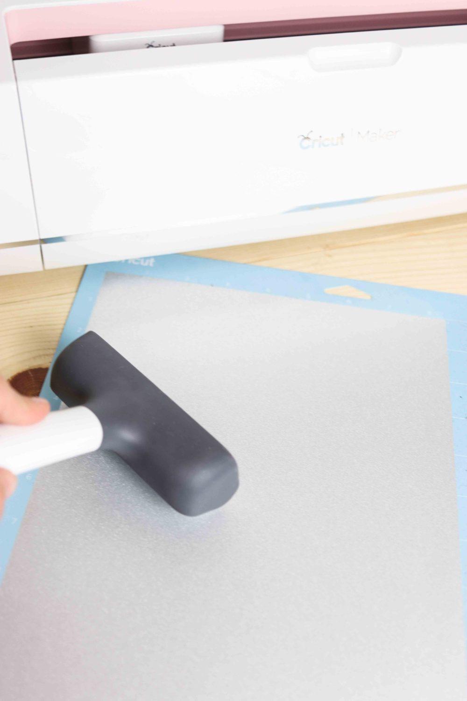 Cutting vinyl in Cricut Design Space