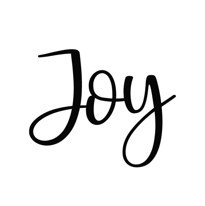 Joy Free SVG