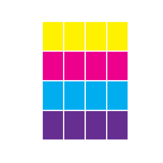 sticker rectangle sheet free svg layout