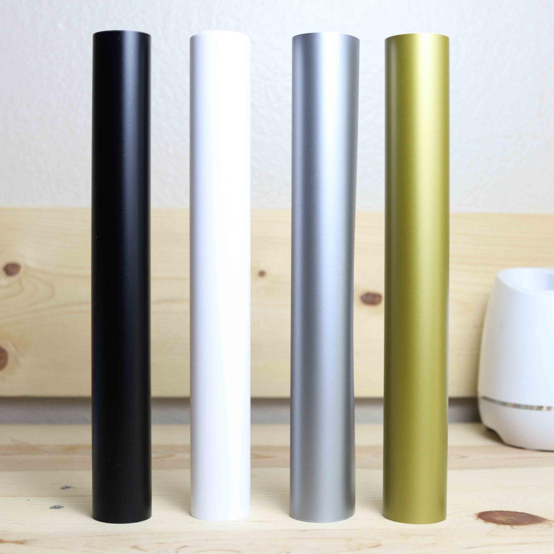 Matte and metallic finish adhesive vinyl rolls