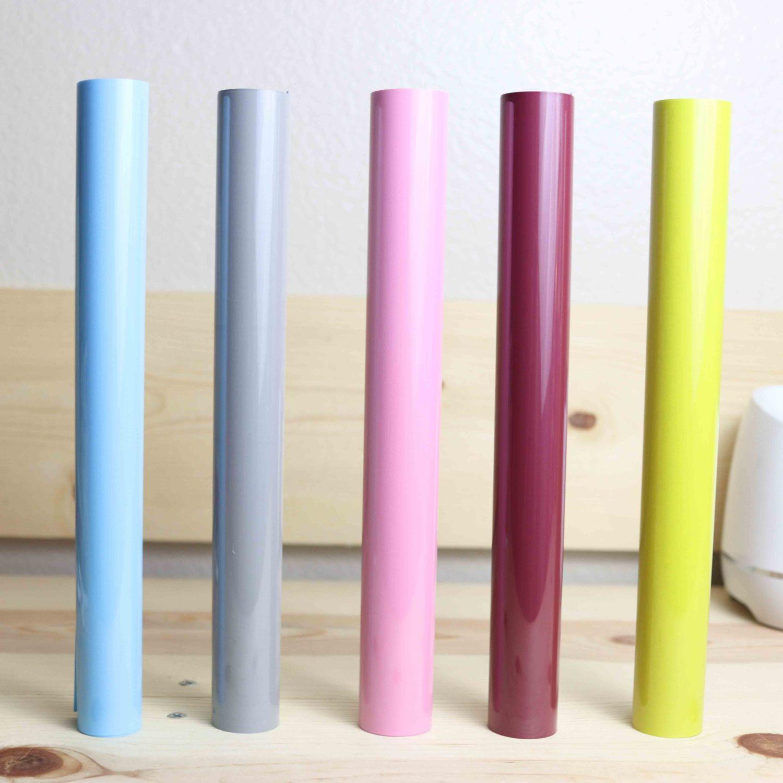 different colors of heat transfer vinyl