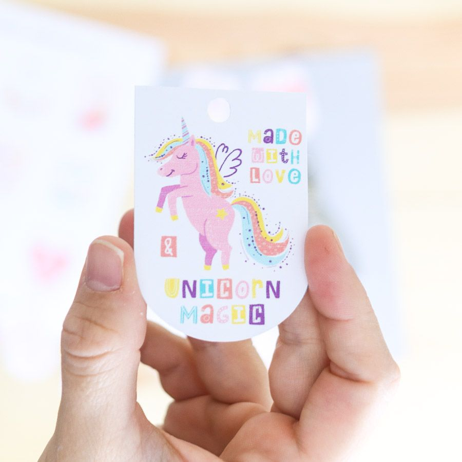 Made with love birthday gift tag free printable