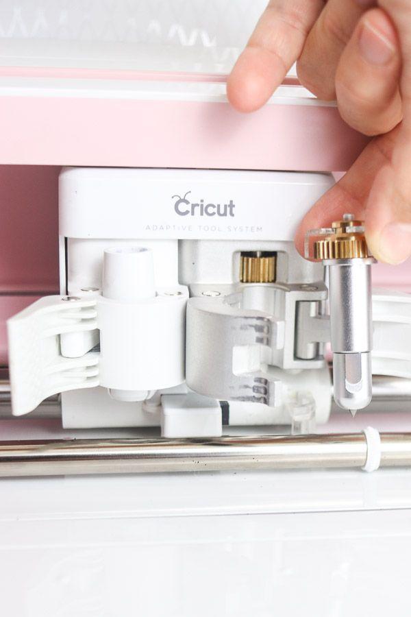 Cricut Make adaptive tool system and drive housing.