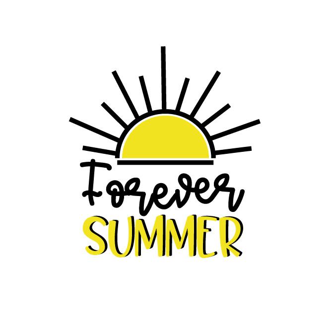 Forever Summer Free SVG