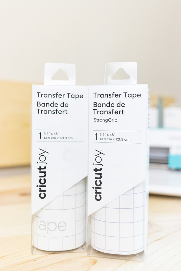 Cricut Joy Compatible transfer tape. Strong Grip and regular grip.