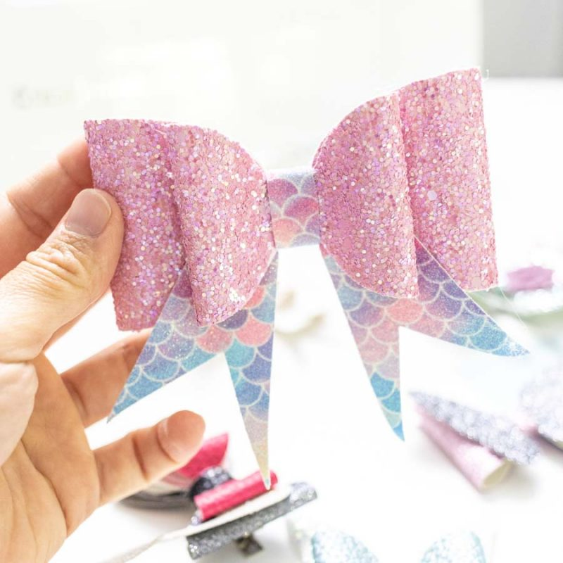Make Hair Bows with your Cricut +18 Free SVG Templates
