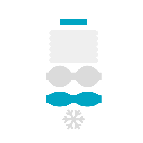 Winter Bow Free SVG