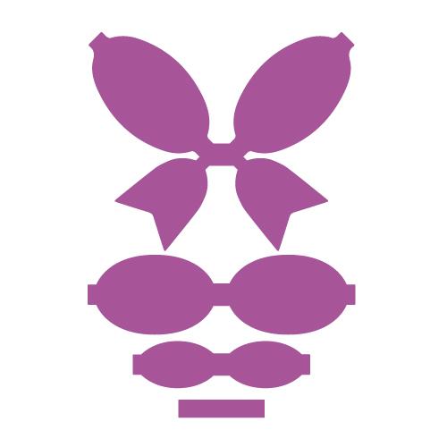 Regular Bow Free SVG