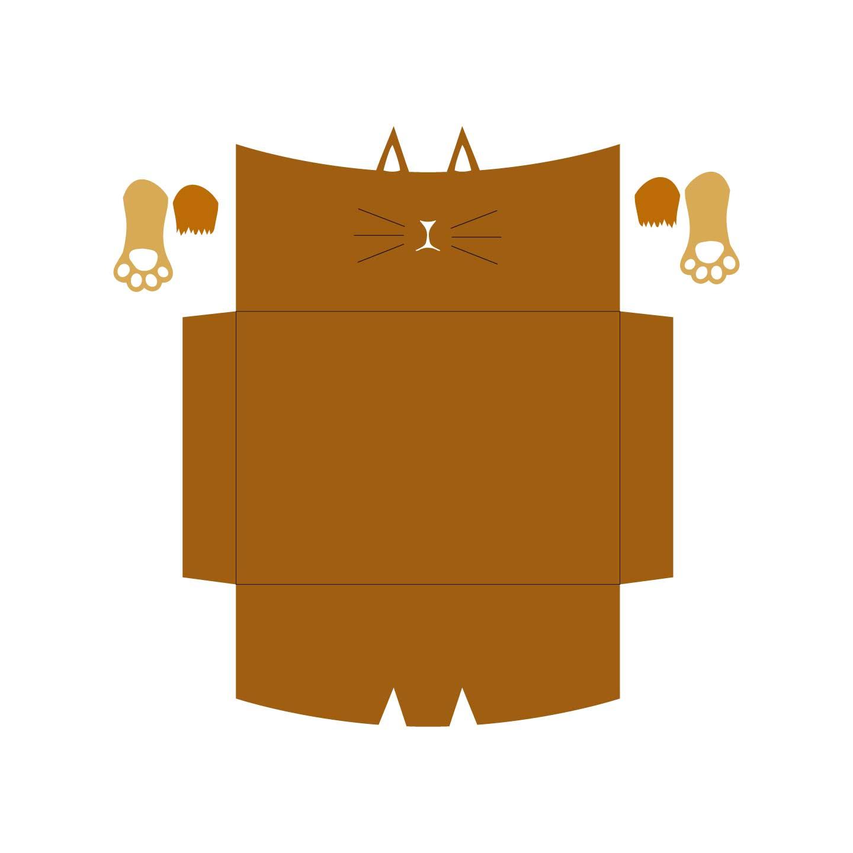 kitty envelope envelope free svg
