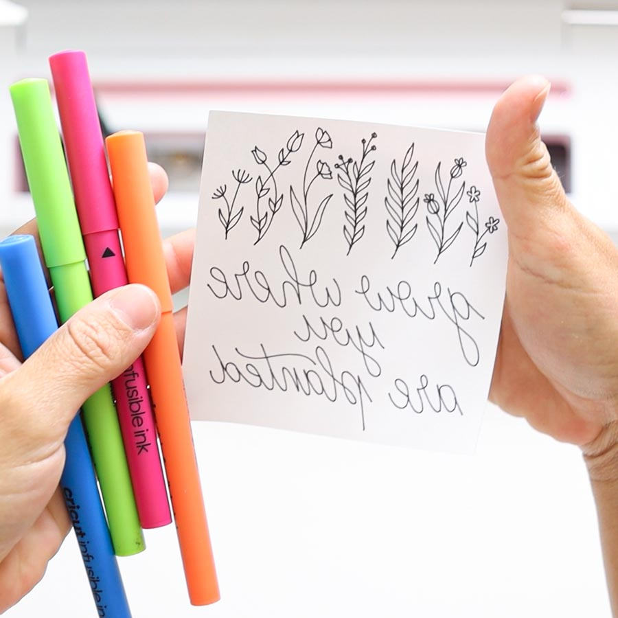 cricut drawing and infusible ink pens