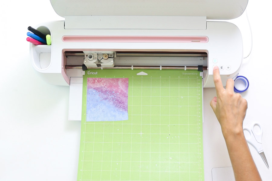 cutting infusible ink transfer sheet