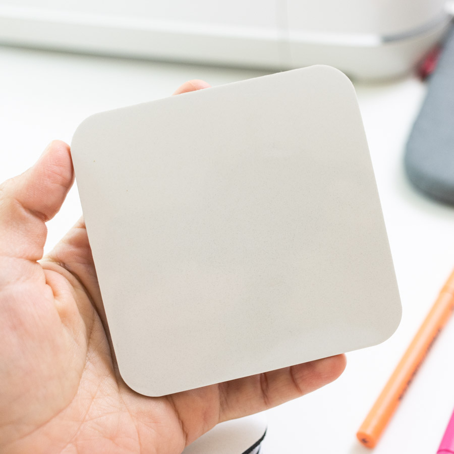 off brand coaster for infusible ink square