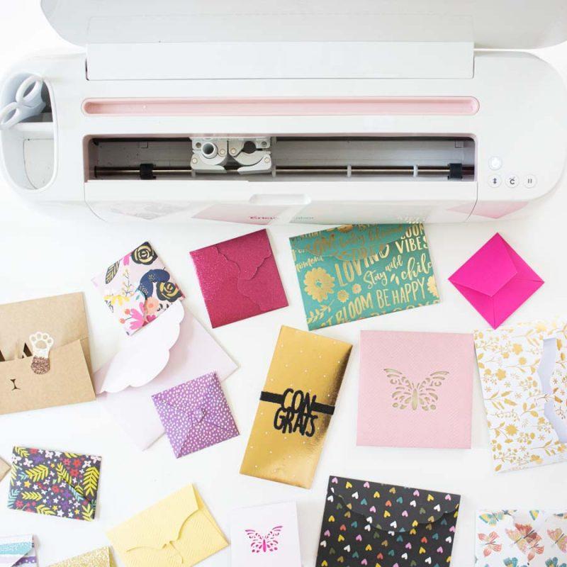 Make & Address Envelopes with Cricut – Free SVG Templates