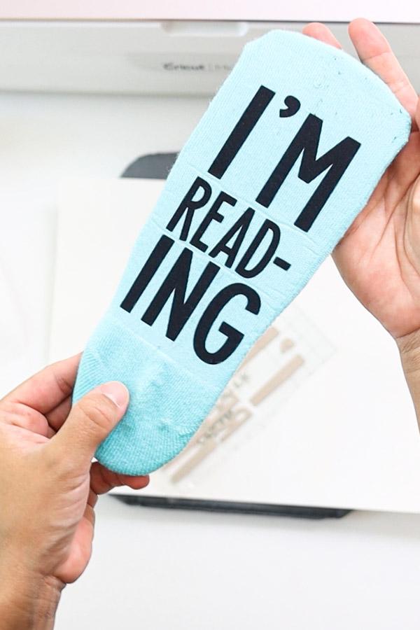 I'm reading sock
