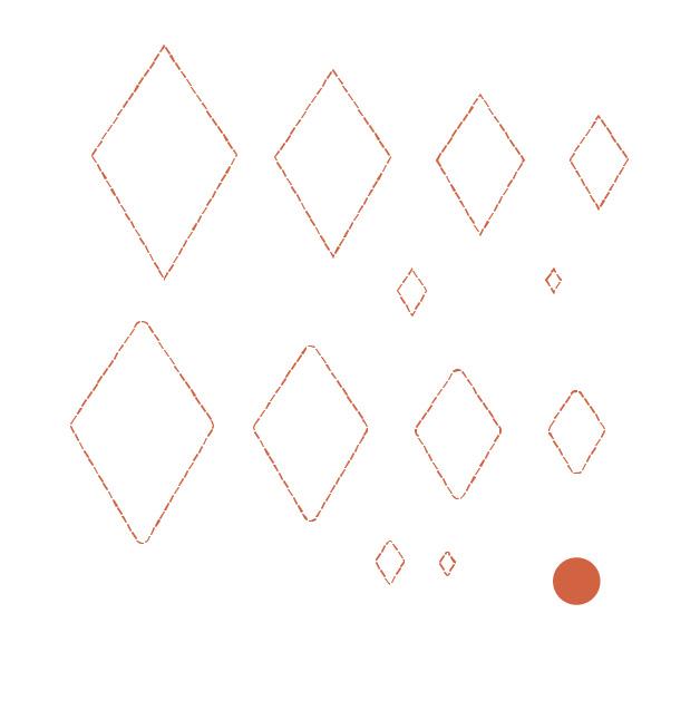Cricut Perforation Line Alternative FREE SVG Diamond