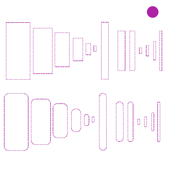 Cricut Perforation Line Alternative FREE SVG Rectangle