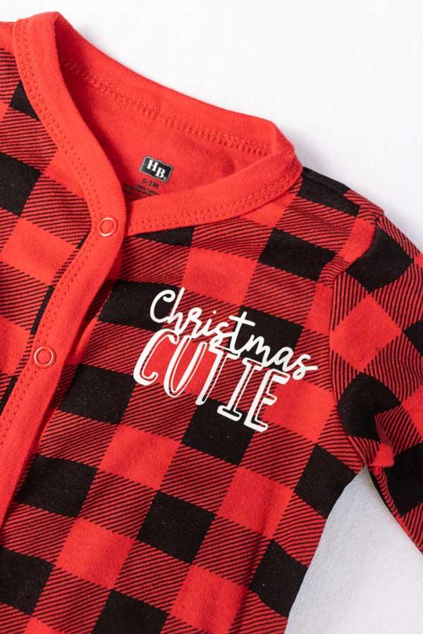Christmas Cutie Pajama made with Cricut