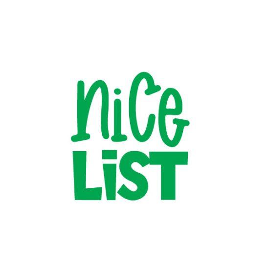 Nice List FREE SVG