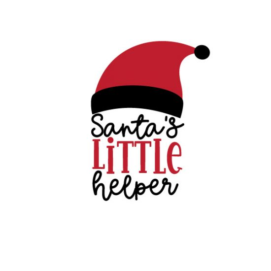 Santas Little Helper FREE SVG