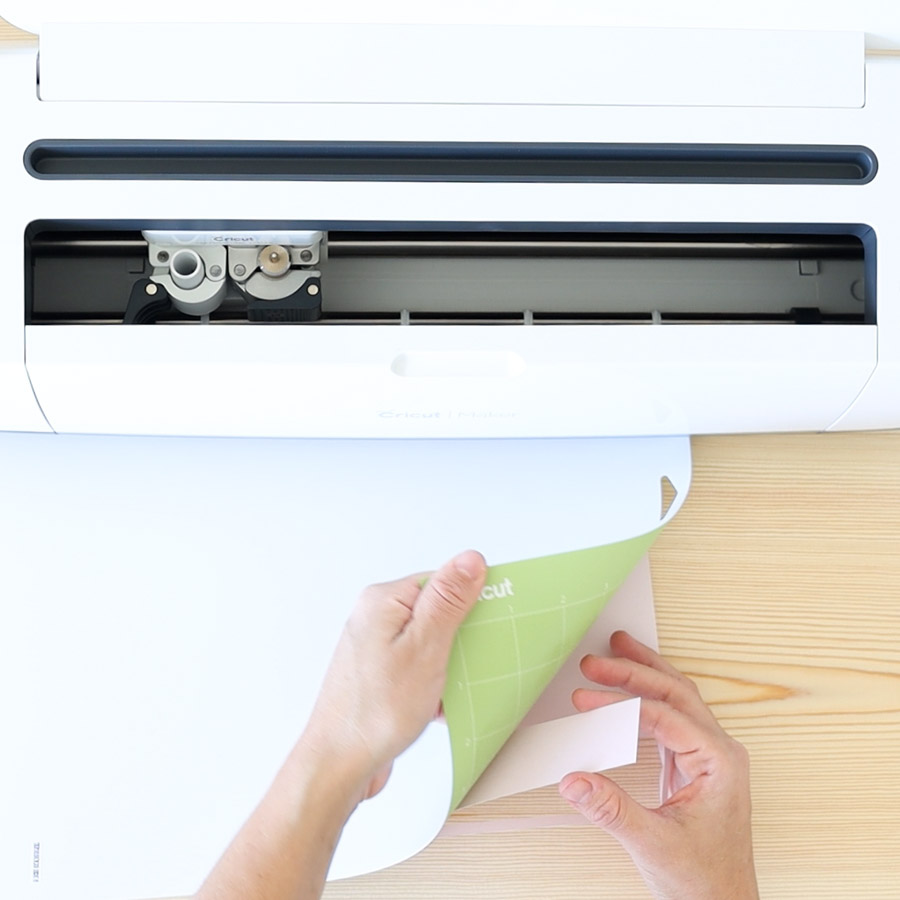removing material from cricut mat