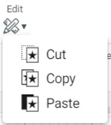 """edit"" icon in cricut design space."