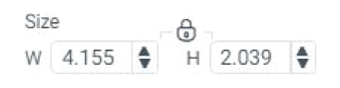 """size"" icon in Cricut Design Space"