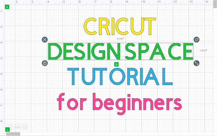 Cricut Design Space Canvas Area